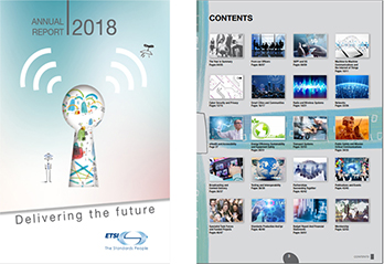 The latest ETSI Annual report is now out!