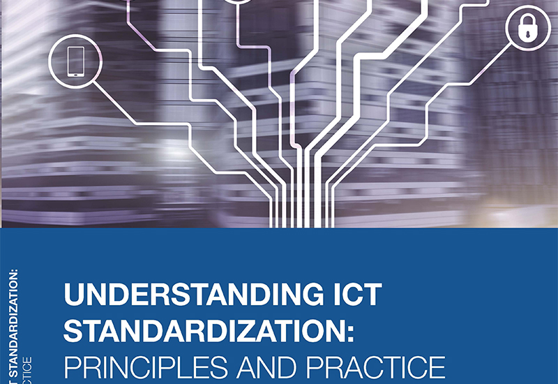 Cover of the book on Understanding ICT Standardization