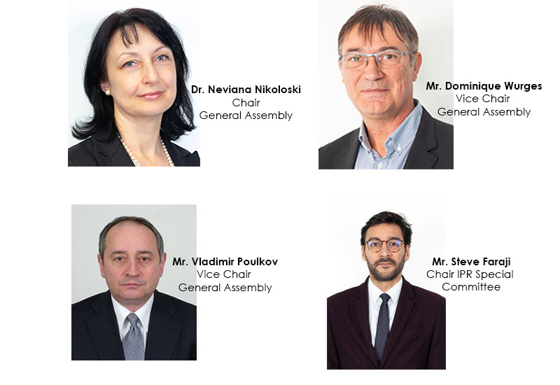 Image showing newly elected ETSI officials