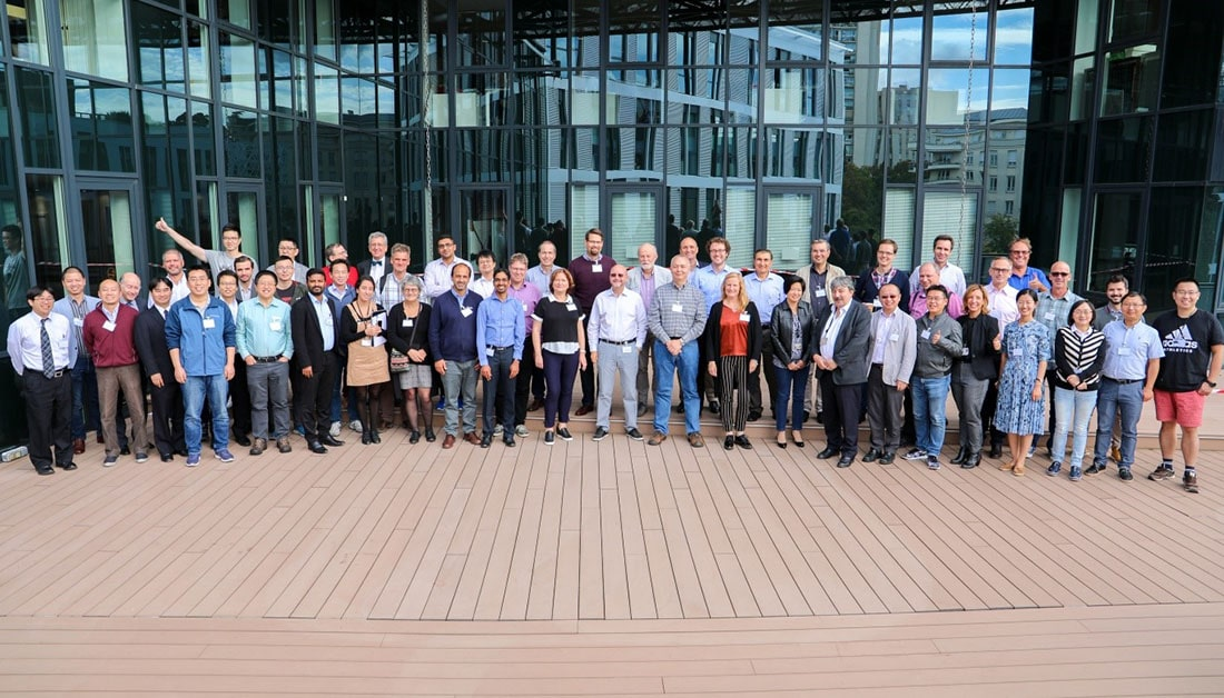 Group photo of participants at 27th NFV plenary meeting