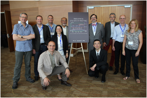 Photo of NFV-ISG leadership people