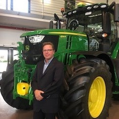 Photograph of Christophe Gossard from John Deere